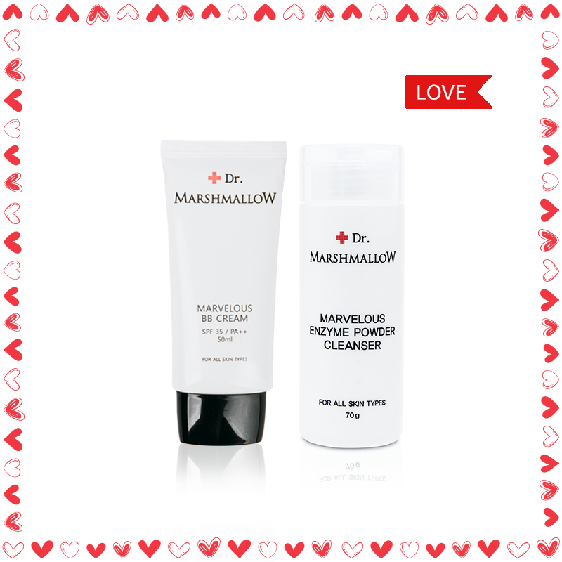VALENTINE SPECIAL - Saranghae Dr.Marshmallow Giftset
